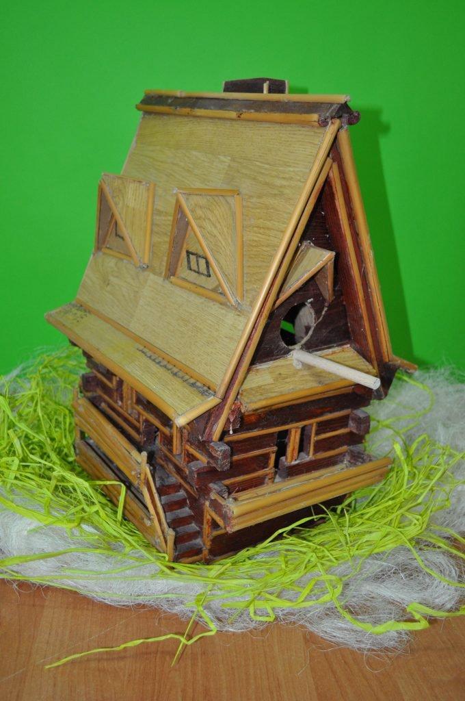 Budka Lęgowa dla ptaków, wykonał Markuc Piotr