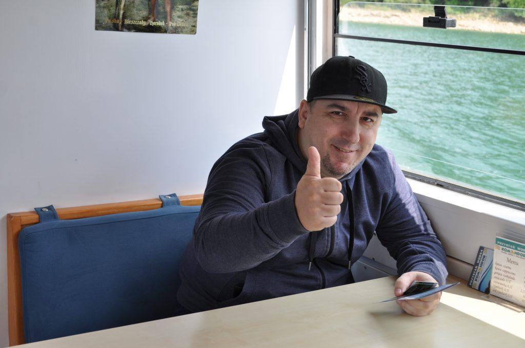 Rejs statkiem po Jeziorze Solińskim